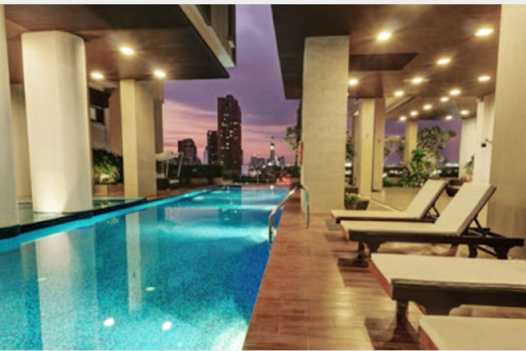 Swimming pool with spectacular view