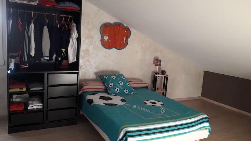 Chambre pour 3 personnes proche du Puy en Velay - Arsac-en-Velay - Hus