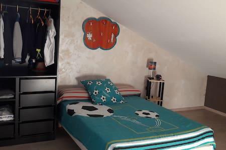 Chambre pour 3 personnes proche du Puy en Velay - Arsac-en-Velay