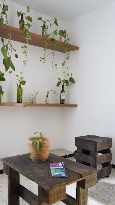 Rustic and nature decoration