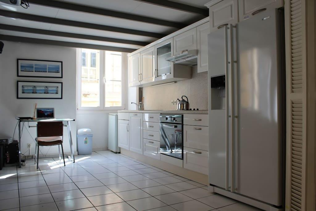 Kitchen Space & Study Area