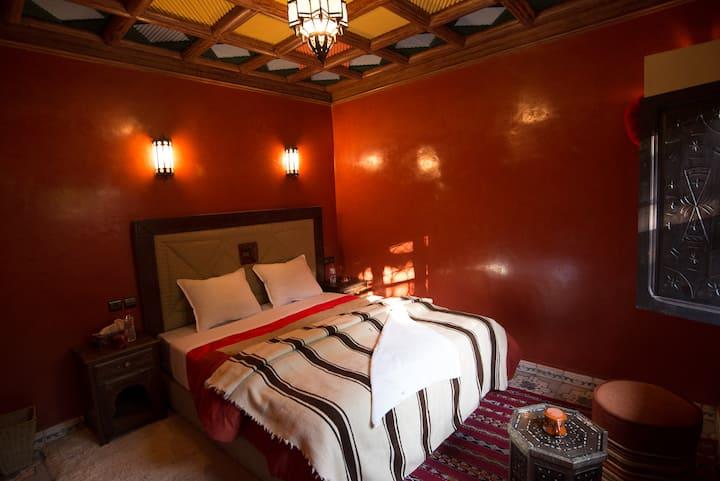 Sahara Ensuite room - Riad Jnane Imlil