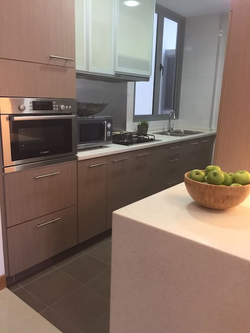 Functional Kitchen with modern equipment
