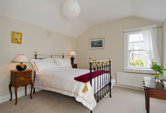 Spacious, comfortable upstairs bedroom