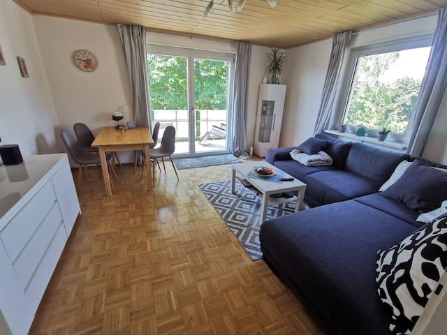 Tolle Wohnung  nahe Straßburg + Europapark