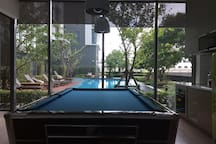 snooker pool table(4th floor)