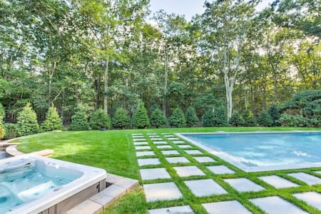 Sag Harbor Getaway - Spacious,Hot Tub,Pool,Privacy