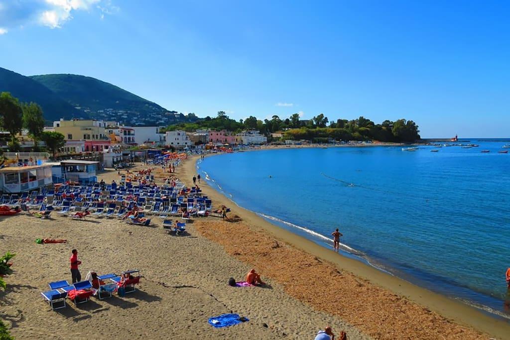 Spiaggia vicina alla casa