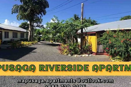 Mapusaga Riverside Apartment 1 Home away from home