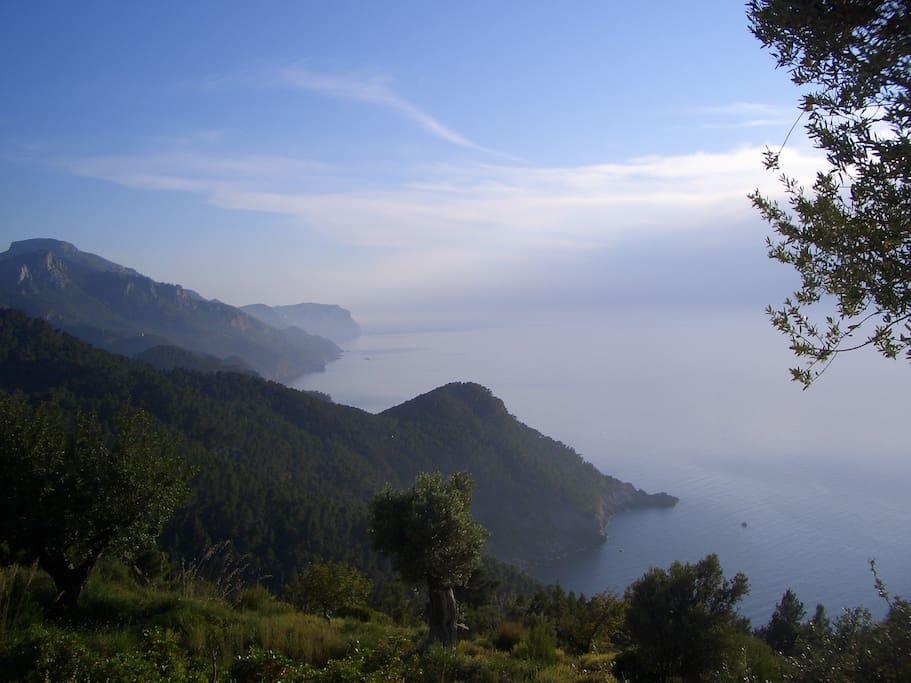 The Sierra de Tramuntana