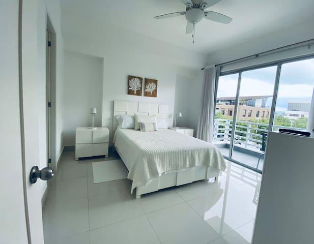 Quiet and peaceful bedroom.