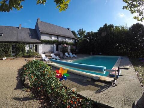 Big house near Loire Valley