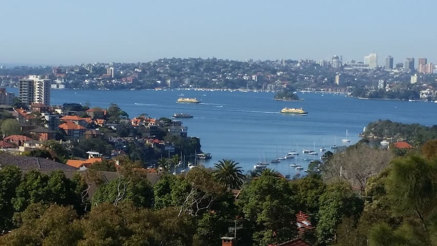 Spacious apartment with stunning harbour outlook - Cremorne - Wohnung