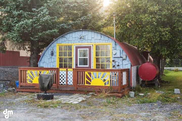 WWII Quonset Hut by Alaska's Point of View