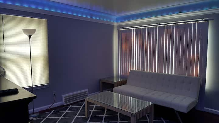 Private room for rent in a modern house.