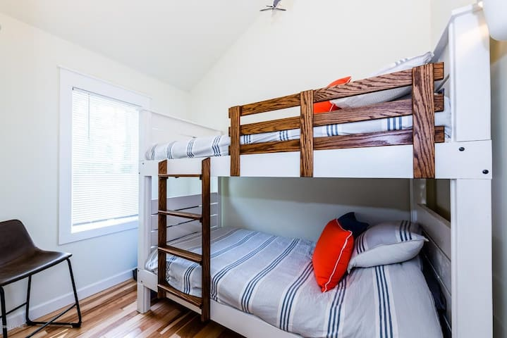 clean sheets in every room - ready to fall into.