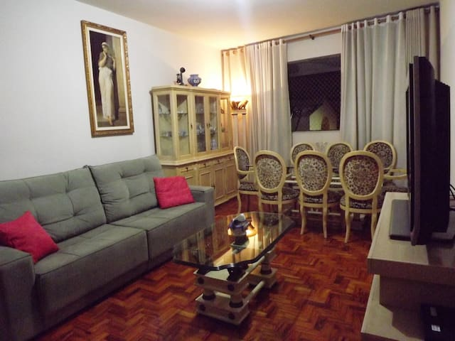 Large apartment in the best city nearest at SP-8mi - São Caetano do Sul - Apartment