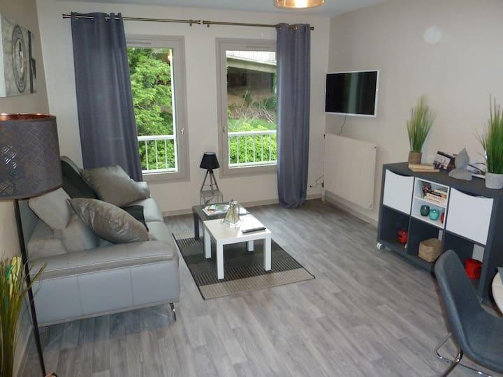Appartement résidence St Jean avec parking gratuit