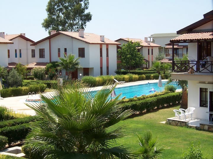 Cozy Villa at Manavgat *Beach(50mt away) and Pool*