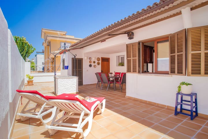 VILLA XAVIER - Chalet for 6 people in Ca'n Picafort.