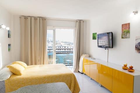 Apartamento estudio con vistas a Playa Jardín