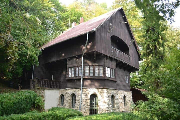 An old villa - in the nature