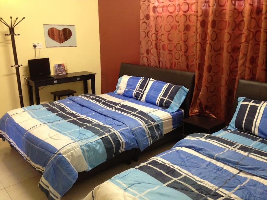 Ipoh Homestay - Bedroom