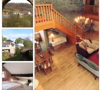 Ensuites charming barn conversion - Romiley - House