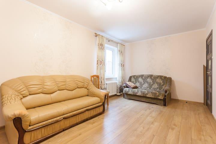 Двухкомнатная квартира у моря - Yantarnyy - Huoneisto