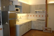 Modern and well fitted kitchen