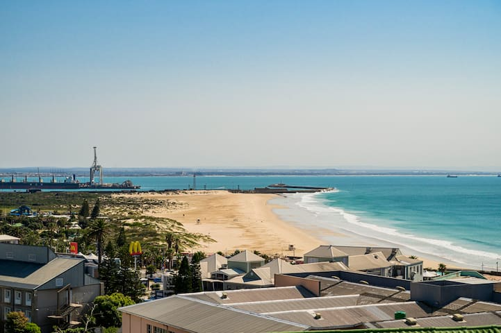 Breathtaking view of Kings Beach from the balcony.