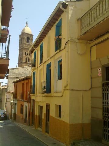 CASA LABRIEGA, TARAZONA  de Aragon,  San Atilano.
