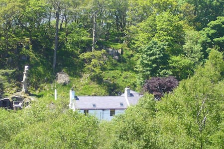 Spacious house with mountain views - Caernarfon - Casa