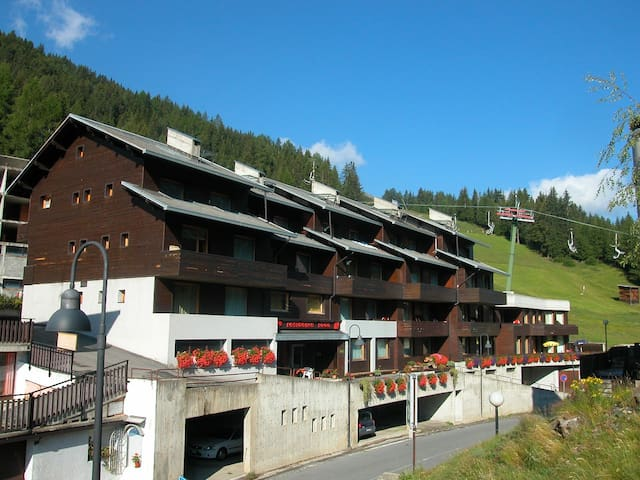 Apartments on the ski slopes - Valfurva - Appartement