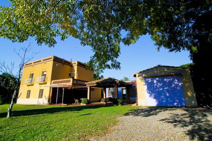 MAS MUTLLO 15PAX **Wi-Fi FREE & POOL** - Tarragona - Haus