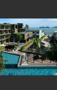 Cozy Studio THE PIXEL CONDO Seaview @ Cape Panwa - Phuket - Apartment