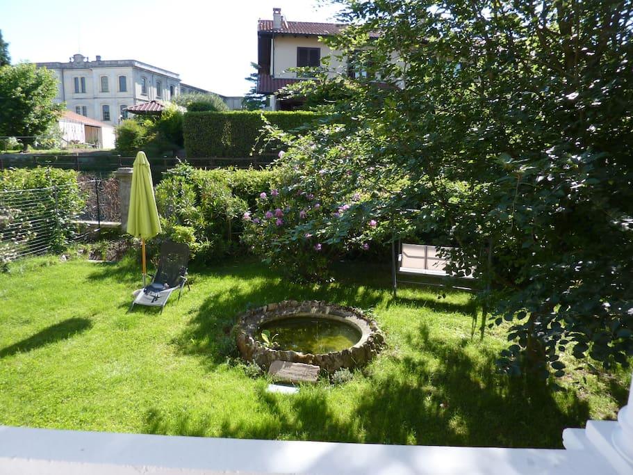 il giardino ad uso esclusivo