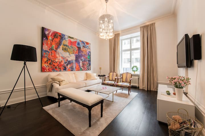 Modern home in prime location! - Stockholm - Apartment