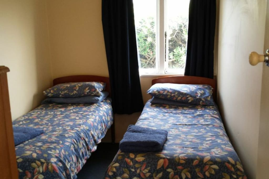 Second bedroom, two singles