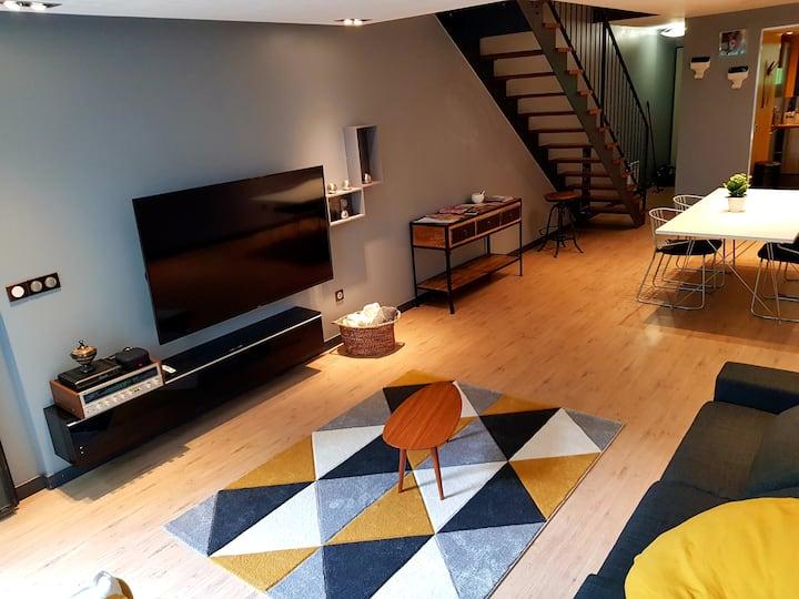 Maison 6pers. Zenith de Lille/Centre