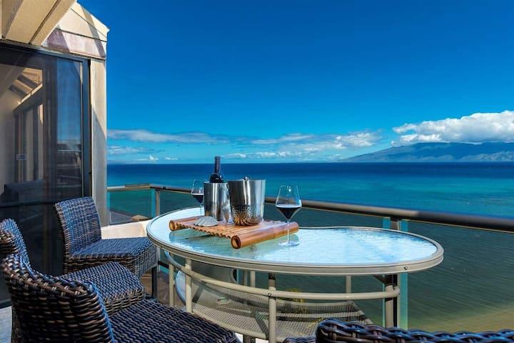 Maui Sands of Kahana Oceanfront 8th Floor Spectacular Views