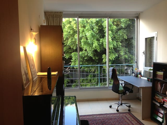 SWEET home, sunny relaxing central flat! - Tel Aviv-Yafo - Appartement