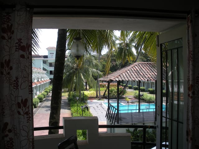 CD Zen AC Studio Appt - Güney Goa - Daire