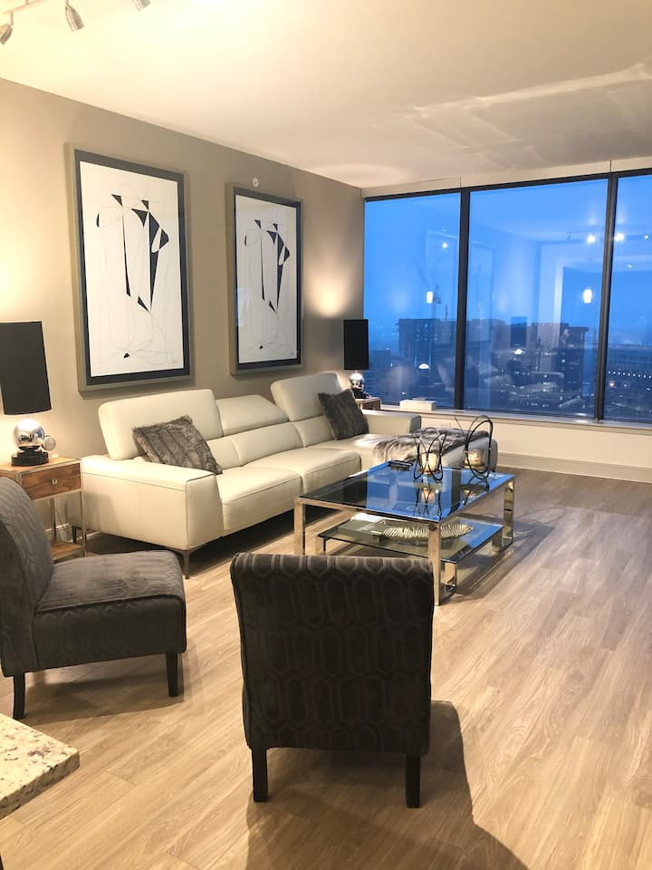 Brand New Amazingly Chic High Rise Apartment Home