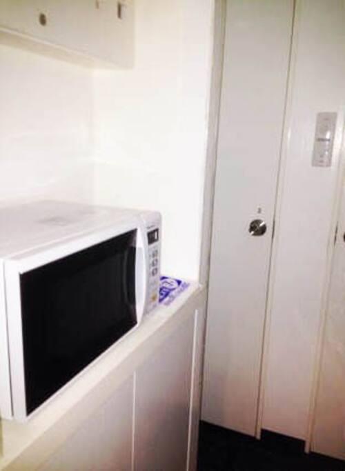 Apt#401 Microwave