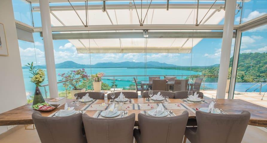VILLA SEAKISS  CAPE YAMU超赞海景别墅带女佣管家早餐