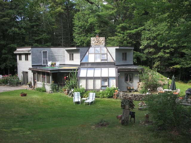 Passive Solar Home on 200 Acres (1) - Conway - Casa