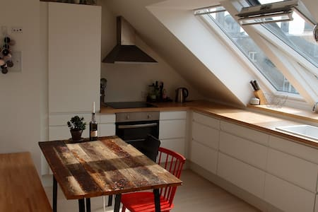 Brand new penthouse in CPH heart