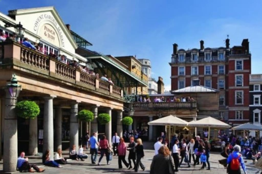 Covent Garden 2 min walking distance from my apartment