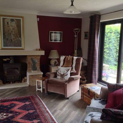 Modern house in Georgian town. - Stamford